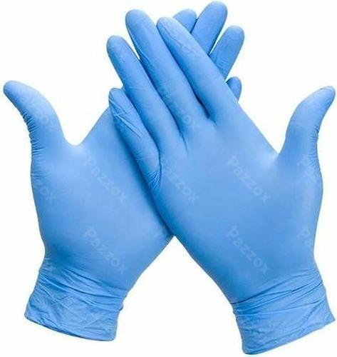 Handschoenen Large Nitril Ongepoederd Blauw 100 Stuks