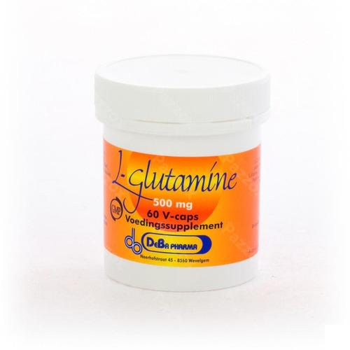 L-glutamine Caps 60x500mg Deba