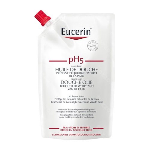 Eucerin Ph5 Douche Olie Navulling 400ml