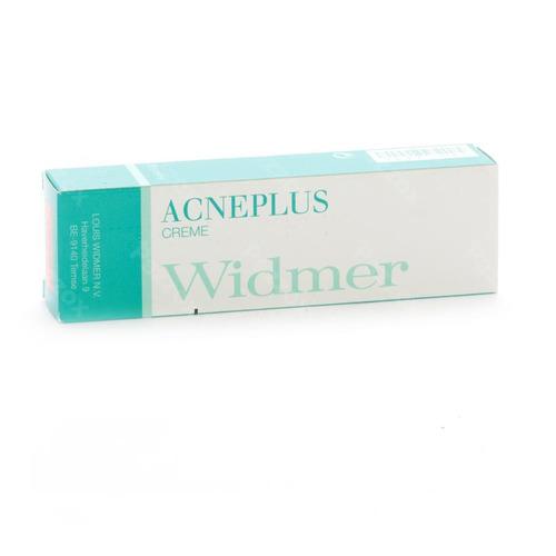 Widmer Acneplus Creme Zonder Parfum 30g