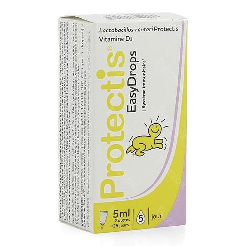 Protectis Easydrops Gutt Voedingssupplement Immuniteit En Darmflora Druppels 5ml