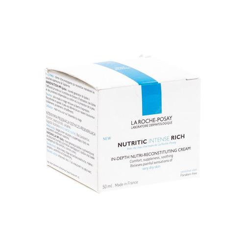 La Roche Posay Nutritic Intense Rich Crème Droge En Gevoelige Huid 50ml