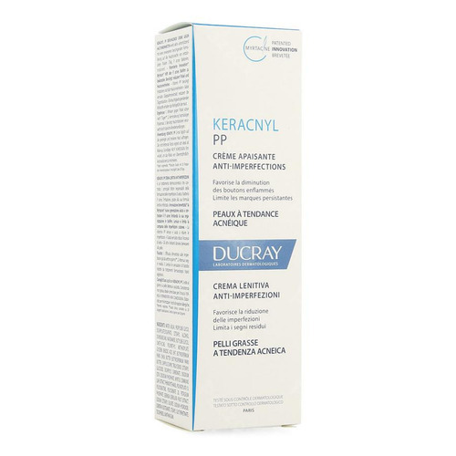 Ducray Keracnyl Pp Creme Verzacht. A/imperf. 30ml