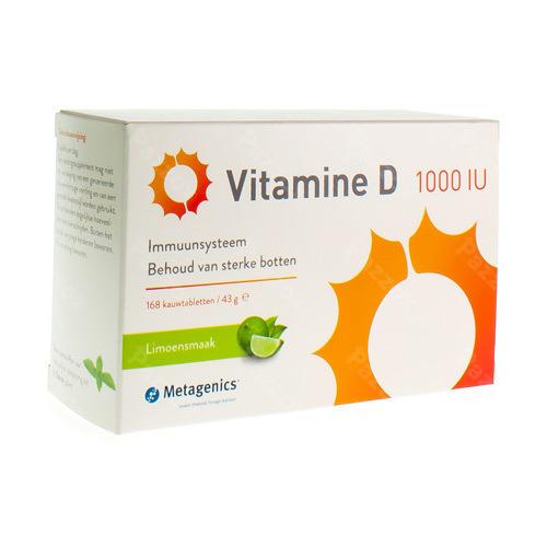 Vitamine D 1000iu Tabl 168 Metagenics