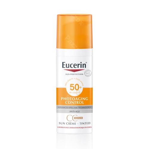 Eucerin Sun Cc Creme Medium Ip50+ 50ml