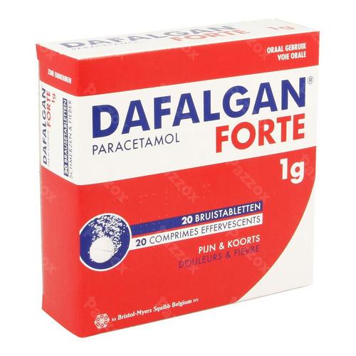 Dafalgan Forte 1g 20 Bruistabletten