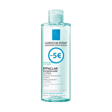La Roche Posay Effaclar Micellair Water 400ml Promo