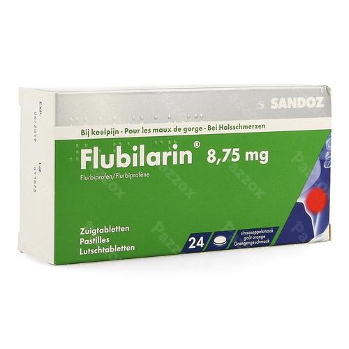 Flubilarin 8,75mg Zuigtabletten 24 Blister