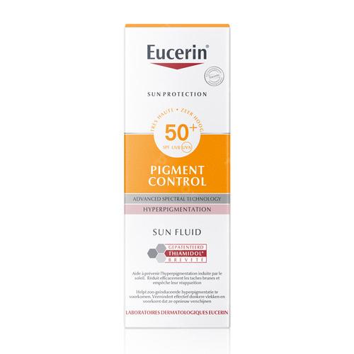 Eucerin Sun Pigment Control Fluid Zonnecreme Spf50+ 50ml