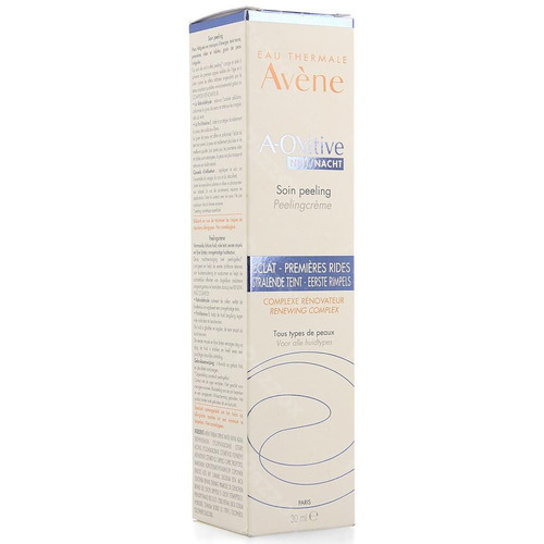 Avene A-oxitive Nacht Peeling Creme Pompfl 30ml