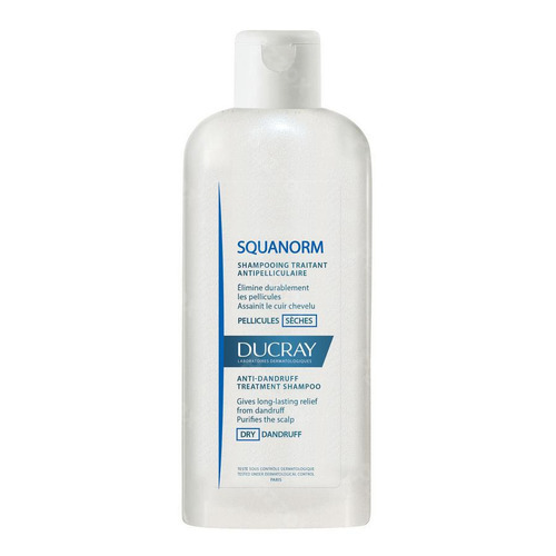 Ducray Squanorm Anti Roos Shampoo Droge Schilfers 200ml